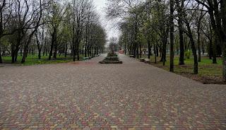 Бобринець. Парк ім. Кропивницького