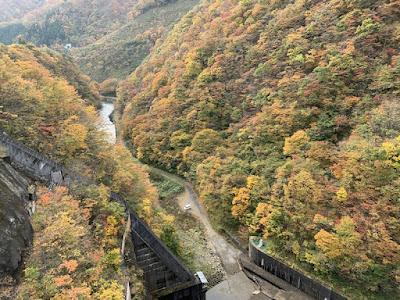 鳴子ダム 下流側