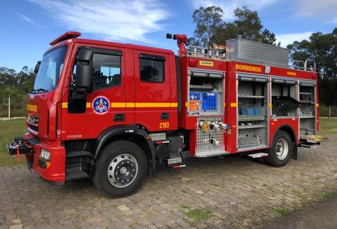 IVECO e Mitren fornecem novos caminhões para o Corpo de ...