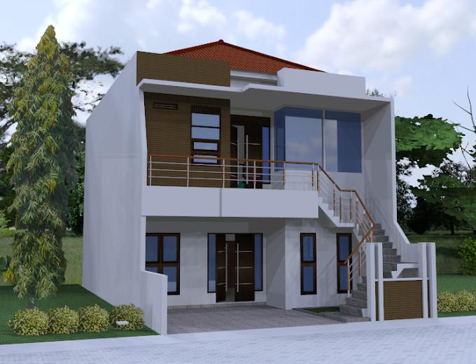 Desain Rumah Bpk Charlie Perum Regency