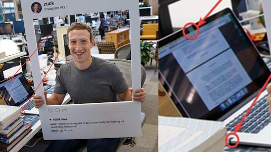 Mark Zuckerberg covered his laptop cameras with tape