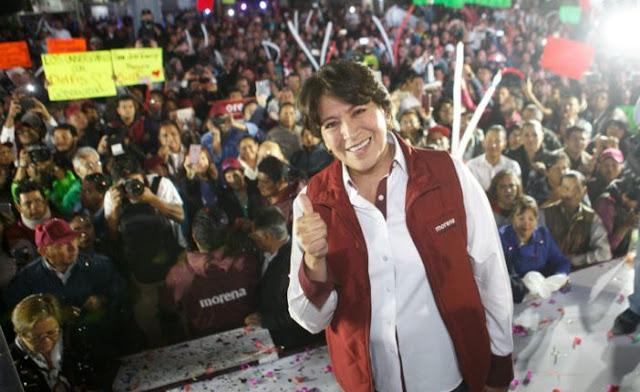 """Delfina Gómez encabezará """"Marcha de la esperanza"""" para """"defender"""" el voto en el Edomex"""