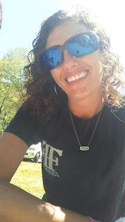 Sara Trimble in a Frank Foster shirt