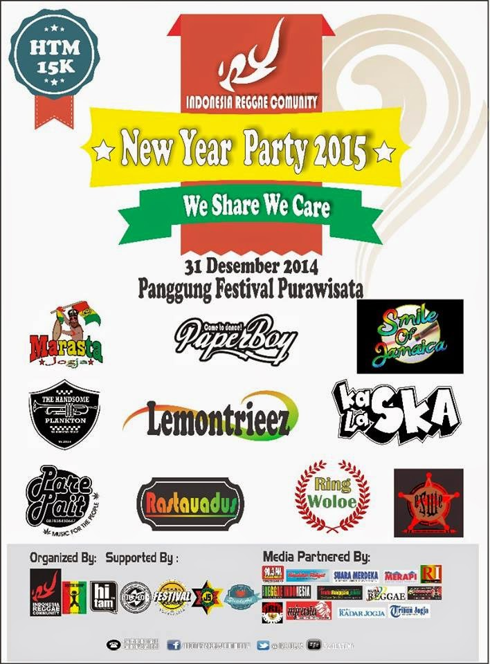 Event : New Year Party 2015 , IRC Reggae ft Purawisata