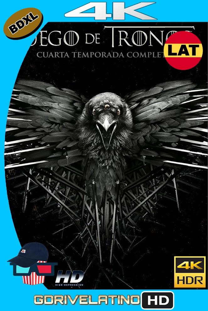 Juego de Tronos Temporada 04 (2014) BDXL 4K UHD HDR DV Latino-Ingles ISO