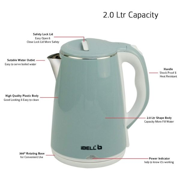 iBell electric kettle for tea