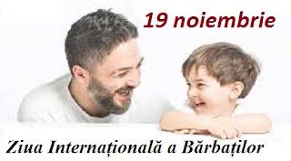 19 noiembrie: Ziua Internațională a Bărbaților