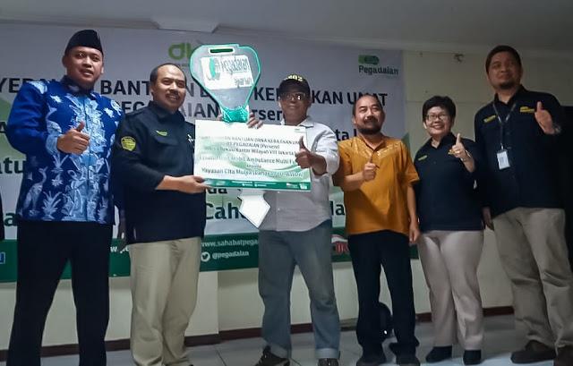 Cahaya Foundation Dapatkan Bantuan Ambulance Dari CSR PT Pegadaian Persero