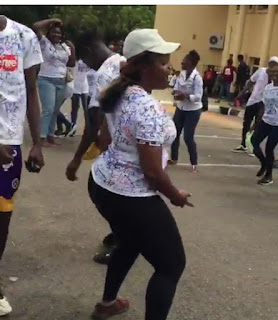 Video: UNILORIN Student Dances 'Soapy' By Naira Marley After Her Final Exam, Signs Out In Style 1