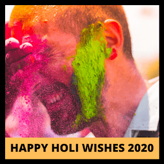 Happy Holi Wishes, Message, Sms, Status, Video, Quotes, Gif, Greetings, Shayari, Date & Image 2020.