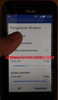 bypass email verifikasi ASUS_X009DA (ZB450KL) Tahap 2