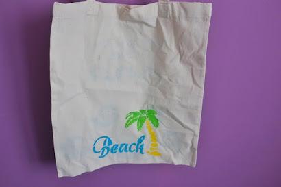 Morska bawełniana torba