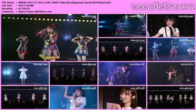 AKB48 201115 SS12 LIVE 1800 720p