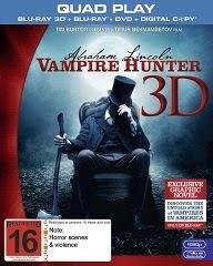 Abraham Lincoln: Cazador de Vampiros [BD25 3D]