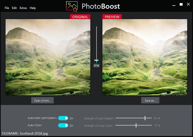 Screenshot Abelssoft PhotoBoost 2019 v19.0702 Full Version