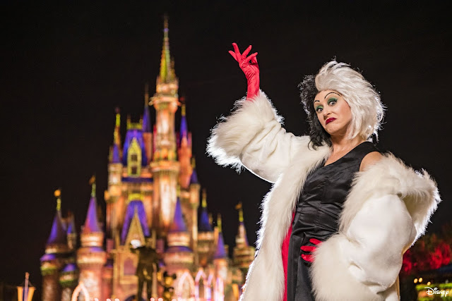 Magic Kingdom Park 2020 Disney Villains After Hours Cruella de Vil
