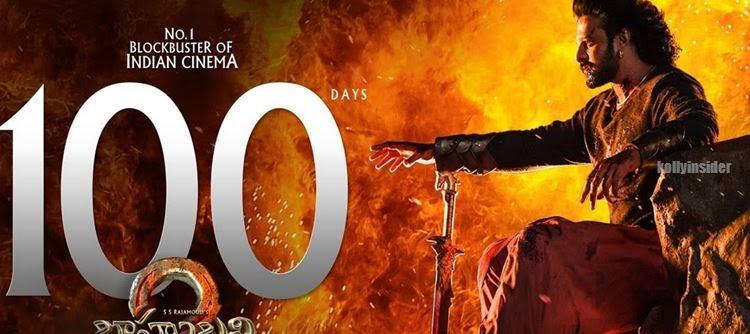 Baahubali 2 100 days