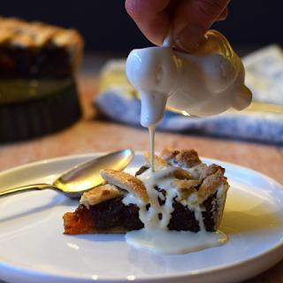 Date Tart with a Lattice Crust