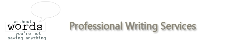 Words Professional Writing Services