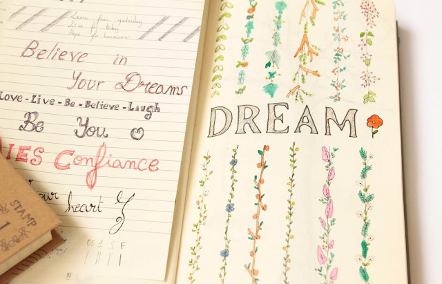 cahier graphisme dream