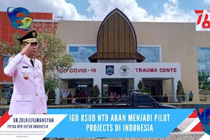 Menyambut Event MotoGP,IGD RSUD NTB Menjadi Pilot Projects Di Indonesia
