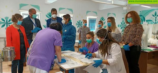 Realizan un nuevo cribado de COVID-19 entre los pacientes y trabajadores del Hospital de Dolores