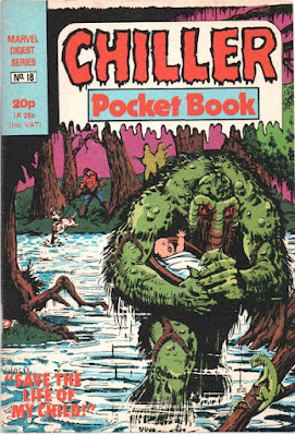 Chiller pocket book #18, the Man-Thing