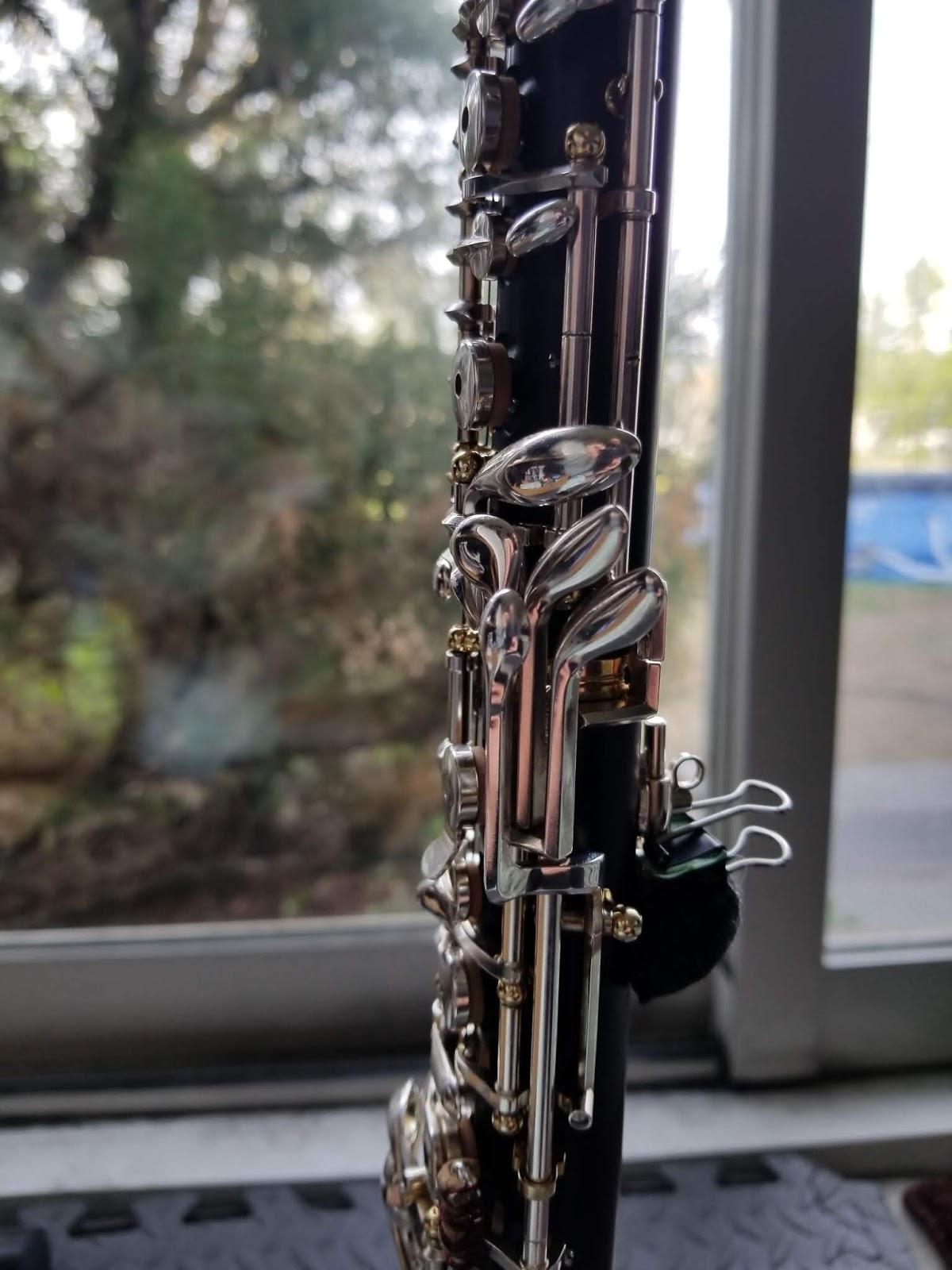 Couleur: Argent Dailyinshop Outil de r/éparation de Tournevis sp/écial fl/ûte Clarinette Professionnelle Saxophone Argent