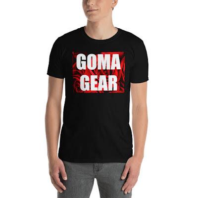 GOMAGEAR ROSES T-SHIRT - MEN | GOMAGEAR International