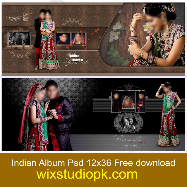 Latest indian Album Psd 12x36 Templets Free Download