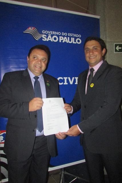 Itaoca recebe emenda de R$ 150 mil do deputado Marcos Damasio