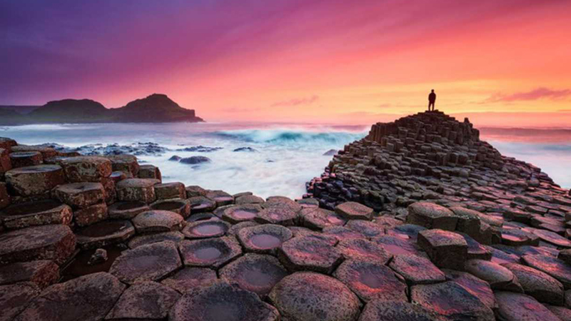 Giant's Causeway Beach, Ireland