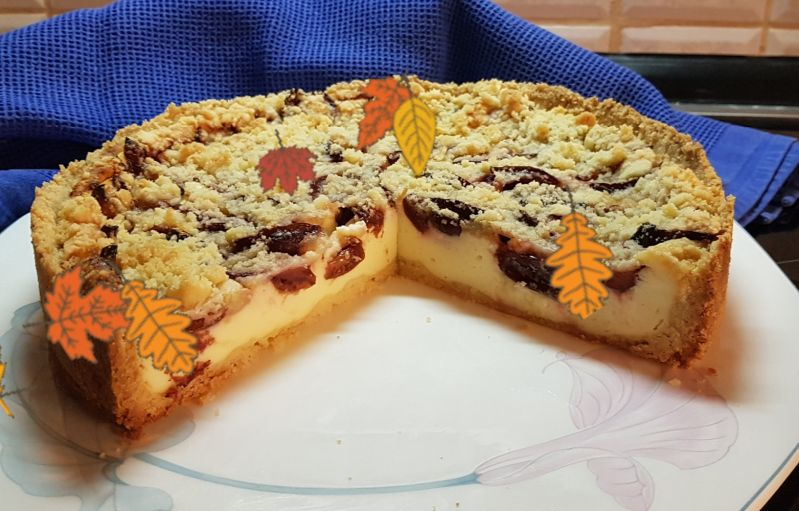 Kaese-Zwetschgen-Streuselkuchen