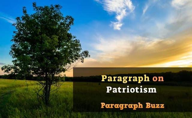 Paragraph on Patriotism
