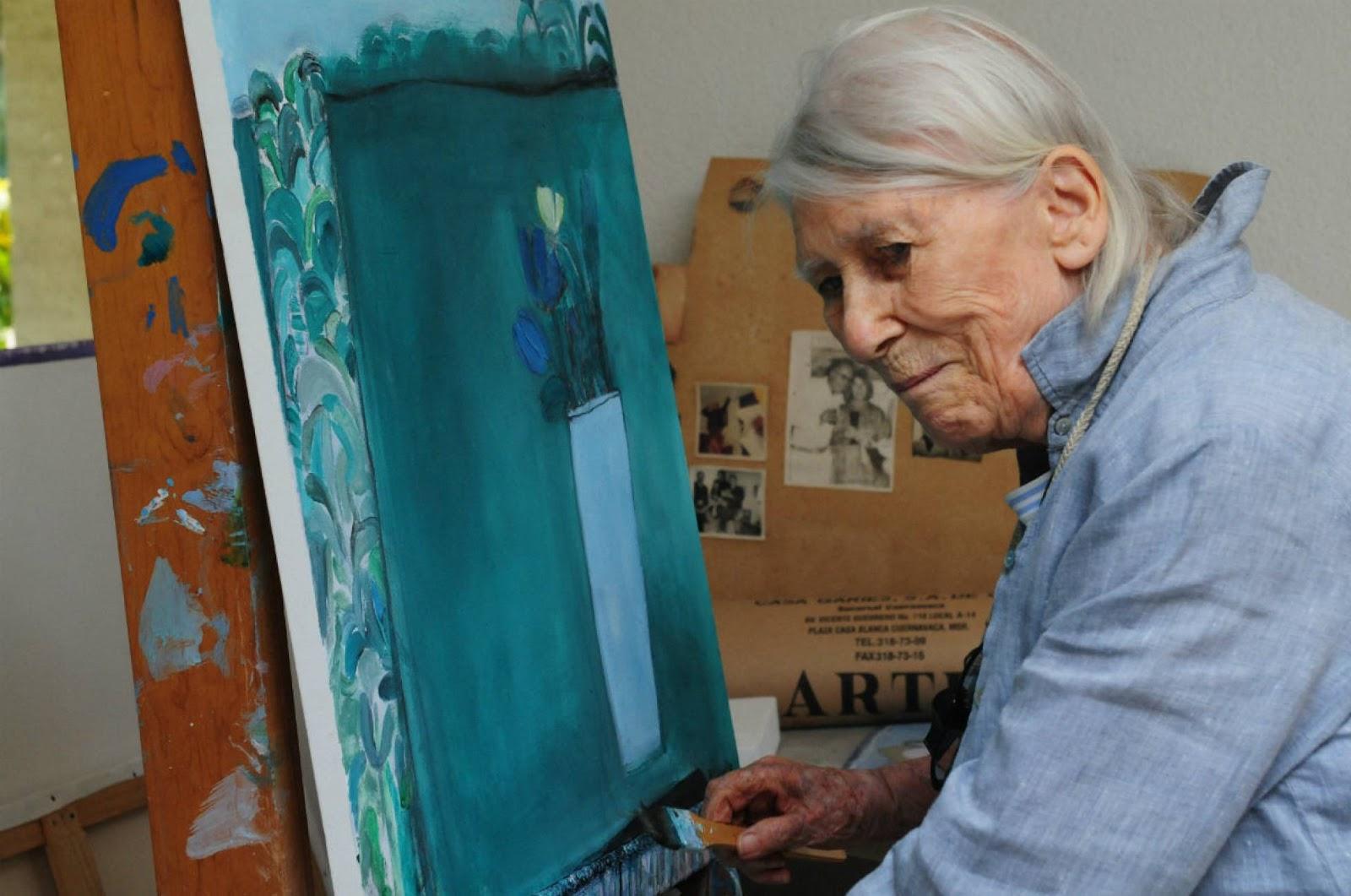 De otros mundos: Muere la pintora Joy Laville a los 94 años