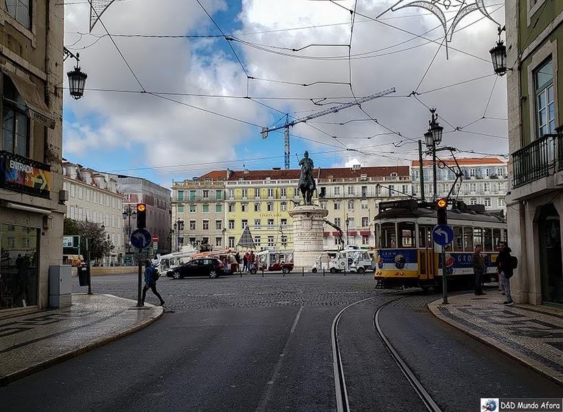 Praça da Figueira - o que  fazer em Lisboa