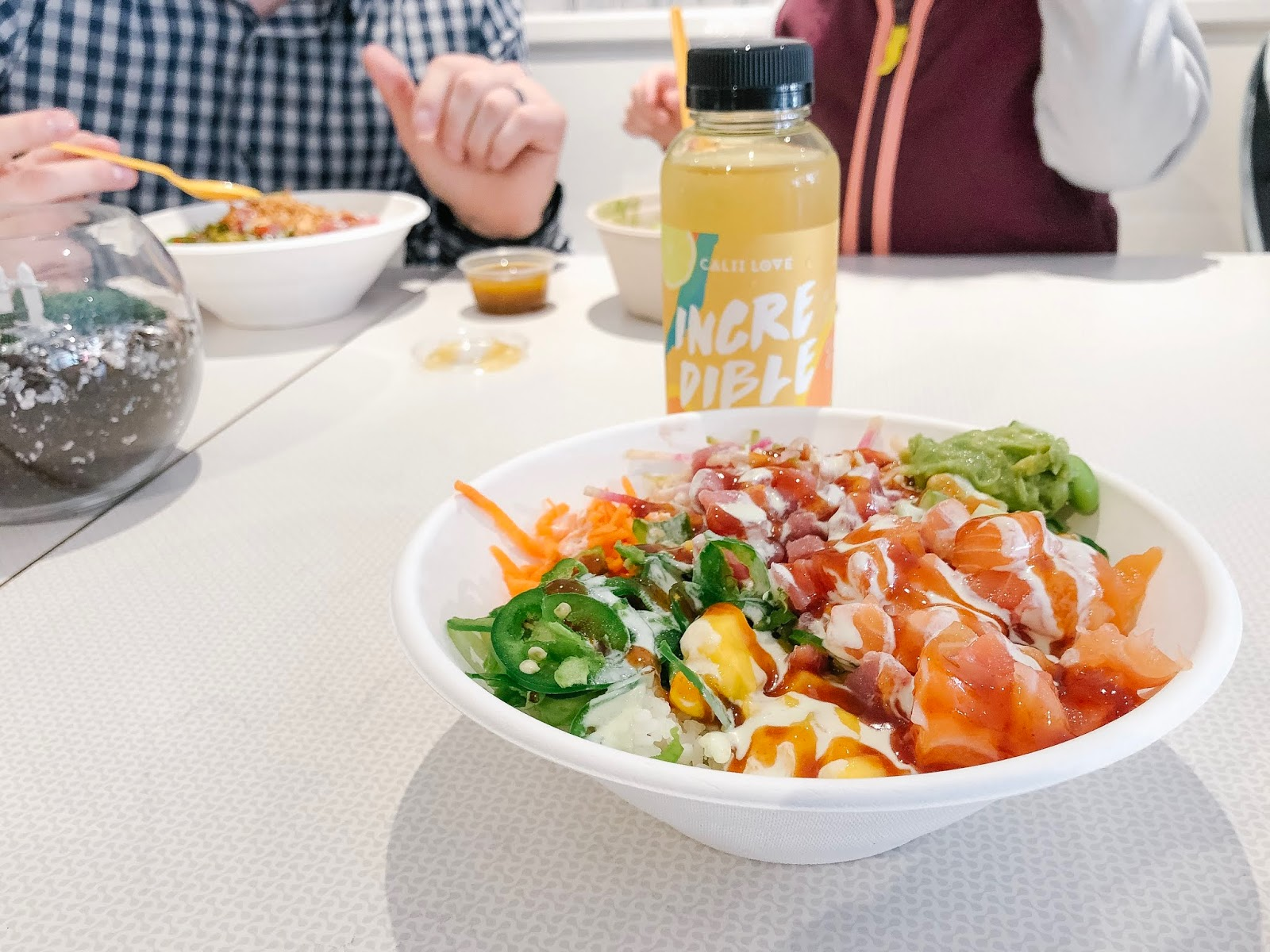 Calii Love Amazing Signature Poke Bowl