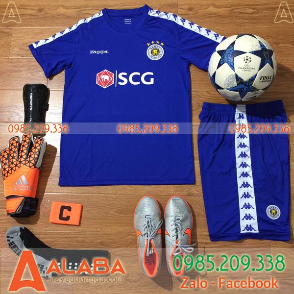 Áo CLB Hà Nội T&T 2019 màu xanh dương