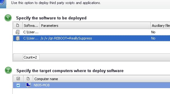 redeye admin: GFI LanGuard: Deploying Java Updates Silently, Not