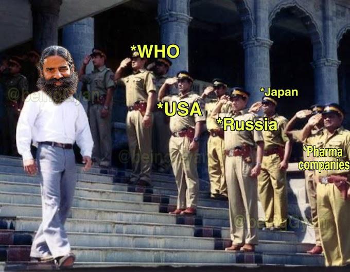 Ramdev Baba - Patanjali CORONIL Memes
