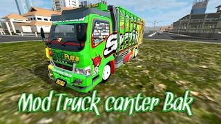 Truck Canter Bak Bussid