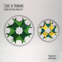 Estrella Code di Rondine, diseño Paolo Bascetta   -  Plegado davidmalabarista