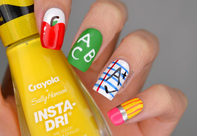NAILS | Back to School Nail Art #ManiMonday