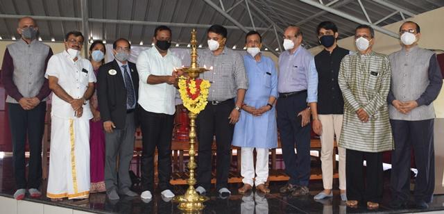 Post-Covid Ayush Care Centre Inaugurated at Sharada Ayurdhama Talapady