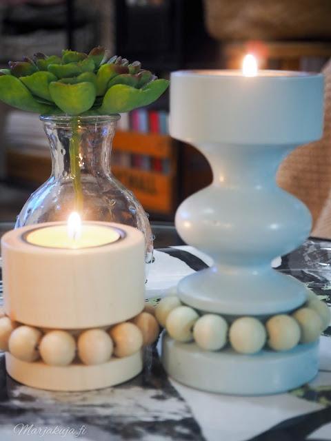 aarikan prinssi prinsessa kynttilä tuikut