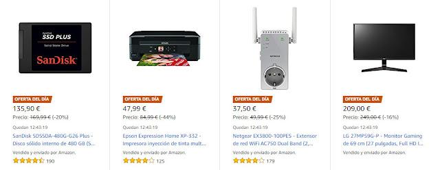 Ofertas Amazon 28 agosto 2017
