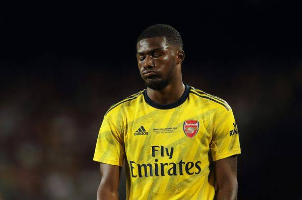 Arsenal hopeful to sell Maitland niles to fund Aubameyang contract