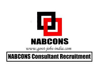 NABCONS Consultant Recruitment 2020