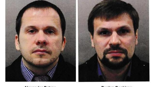 Citoyens russes affaire Skripal Angleterre empoisonnement