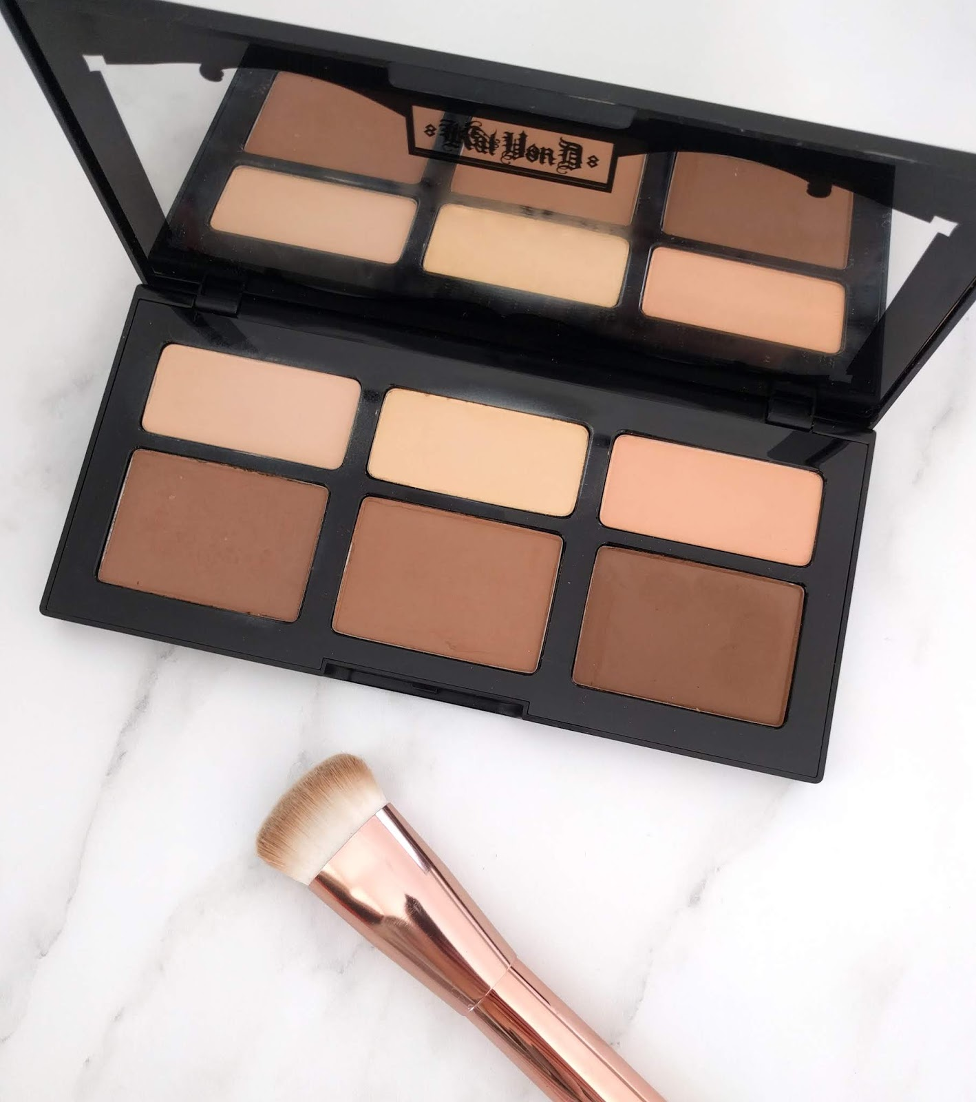Shade and Light Contour palette KVD
